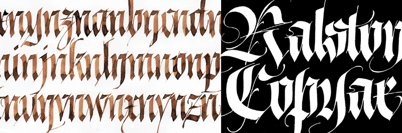 Type@Cooper - Blackletter: From Textura to Fraktur